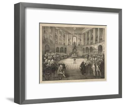 The Last Parliament of Ireland--Framed Giclee Print
