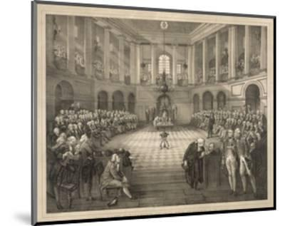 The Last Parliament of Ireland--Mounted Giclee Print