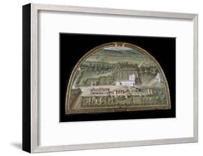 View of Villa Di Colle Salvetti--Framed Giclee Print