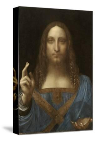 Salvator Mundi Attributed to Leonardo Da Vinci--Stretched Canvas Print