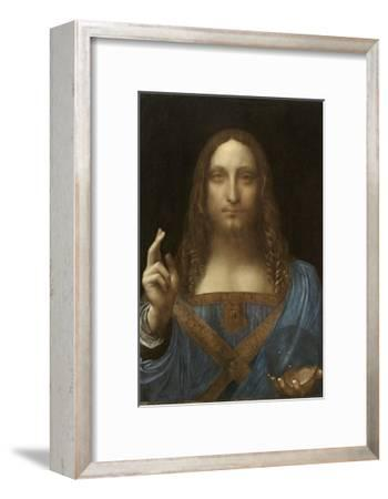 Salvator Mundi Attributed to Leonardo Da Vinci--Framed Giclee Print