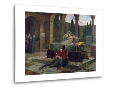 Scene from Romeo and Juliet--Metal Print