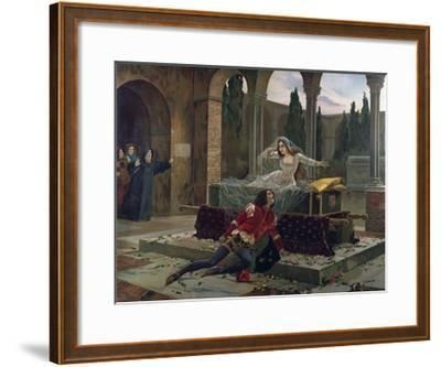 Scene from Romeo and Juliet--Framed Giclee Print