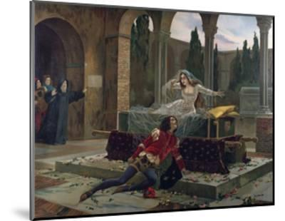 Scene from Romeo and Juliet--Mounted Giclee Print
