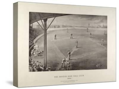 The Boston Base Ball Club--Stretched Canvas Print