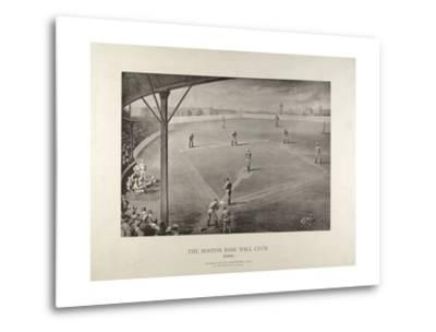 The Boston Base Ball Club--Metal Print