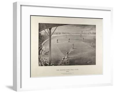 The Boston Base Ball Club--Framed Giclee Print