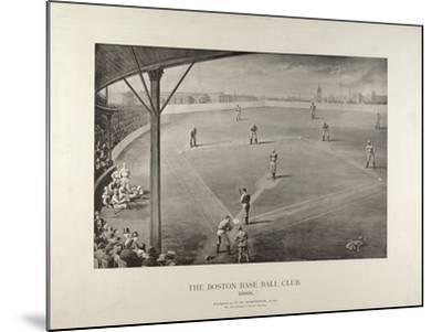 The Boston Base Ball Club--Mounted Giclee Print