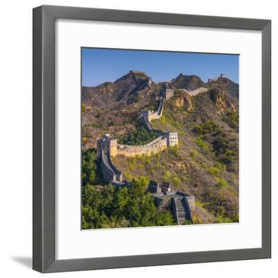 China, Hebei Province, Luanping County, Jinshanling, Great Wall of China-Alan Copson-Framed Photographic Print