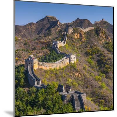 China, Hebei Province, Luanping County, Jinshanling, Great Wall of China-Alan Copson-Mounted Photographic Print