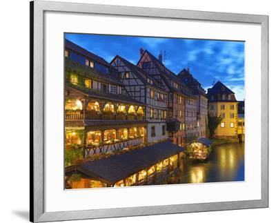 France, Alsace, Strasbourg, La-Petite-France-Shaun Egan-Framed Photographic Print