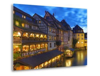 France, Alsace, Strasbourg, La-Petite-France-Shaun Egan-Metal Print