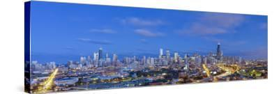 Usa, Illinois, Chicago, City Skyline-Gavin Hellier-Stretched Canvas Print