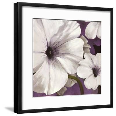Petunia Array 1-Jurgen Gottschlag-Framed Art Print