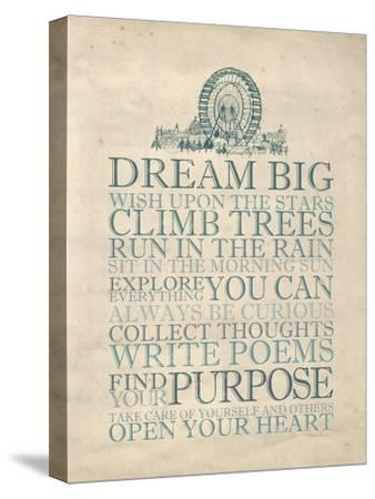 Dream Big-Morgan Yamada-Stretched Canvas Print