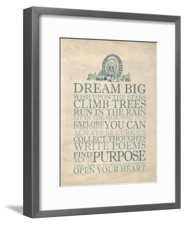 Dream Big-Morgan Yamada-Framed Art Print