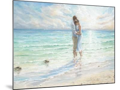 Seaside Embrace-Karen Wallis-Mounted Art Print
