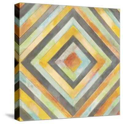 Rustic Symetry 2-Norman Wyatt Jr^-Stretched Canvas Print