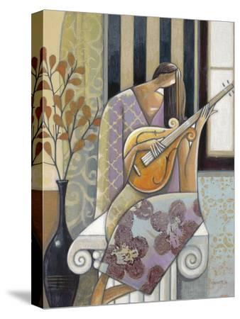Melody-Norman Wyatt Jr^-Stretched Canvas Print