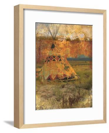 Teepee 1-Sokol-Hohne-Framed Art Print