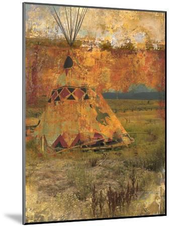 Teepee 1-Sokol-Hohne-Mounted Art Print