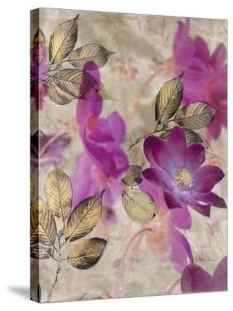 Floral Dreams 1-Matina Theodosiou-Stretched Canvas Print