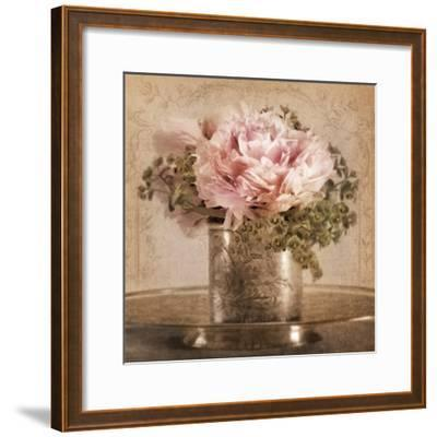 Heirloom Peony-Julie Greenwood-Framed Art Print