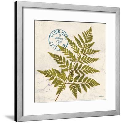 Jade Forest Leaf 1-Morgan Yamada-Framed Art Print
