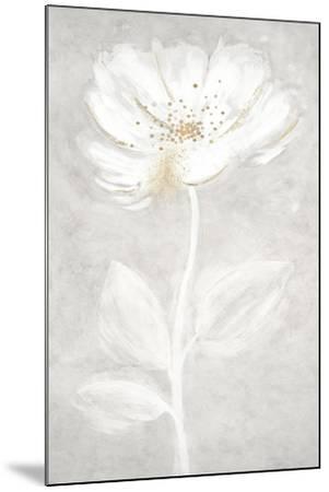 Bianco Fiore 2-Jurgen Gottschlag-Mounted Art Print