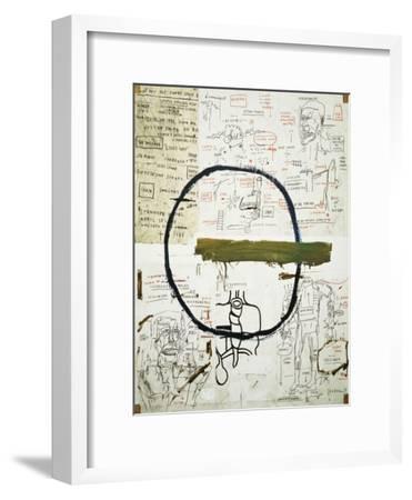 Jesse-Jean-Michel Basquiat-Framed Premium Giclee Print