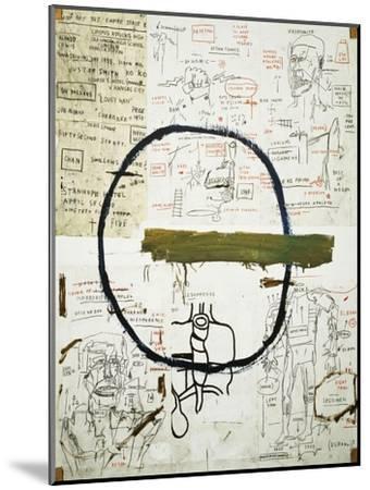 Jesse-Jean-Michel Basquiat-Mounted Premium Giclee Print