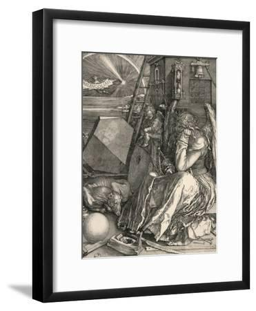 Melencolia I-Melancholia I-Albrecht D?rer-Framed Premium Giclee Print