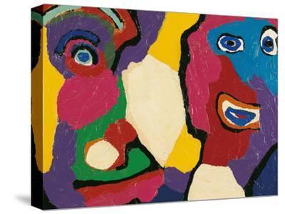 Untitled-Karel Appel-Stretched Canvas Print
