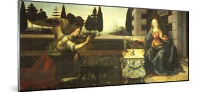 The Annunciation-Leonardo da Vinci-Mounted Giclee Print