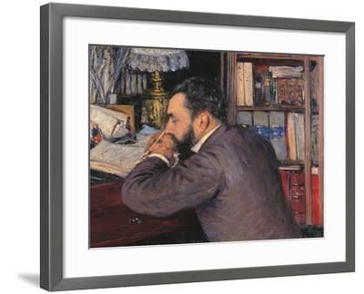 Portrait of Henri Cordier-Gustave Caillebotte-Framed Giclee Print