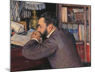 Portrait of Henri Cordier-Gustave Caillebotte-Mounted Giclee Print