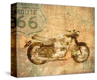 American Rider-Andrew Sullivan-Stretched Canvas Print