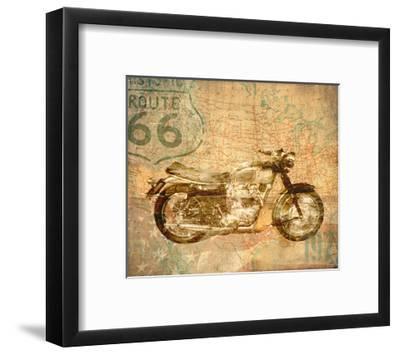 American Rider-Andrew Sullivan-Framed Art Print