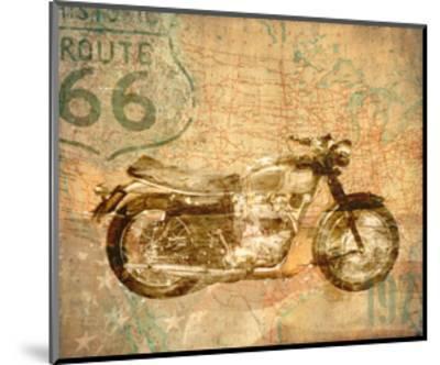 American Rider-Andrew Sullivan-Mounted Art Print