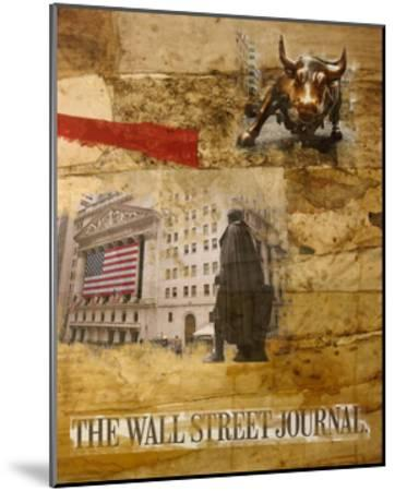 Wall Street I-Andrew Sullivan-Mounted Art Print