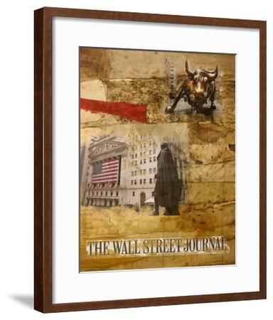 Wall Street I-Andrew Sullivan-Framed Art Print