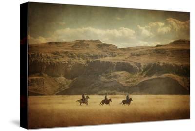 Wild Wild West-Roberta Murray-Stretched Canvas Print