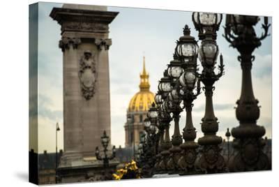 Pont Alexandre II-Erin Berzel-Stretched Canvas Print