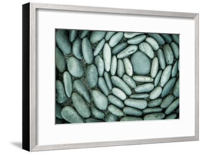 Circle of Stones-Kathy Mahan-Framed Premium Photographic Print