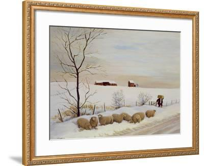 Another Hard Winter-Margaret Loxton-Framed Giclee Print