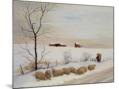 Another Hard Winter-Margaret Loxton-Mounted Giclee Print