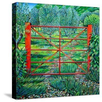 Red Gate, Summer, 2010-Noel Paine-Stretched Canvas Print