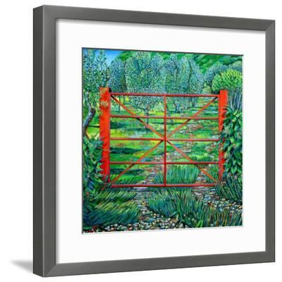Red Gate, Summer, 2010-Noel Paine-Framed Giclee Print