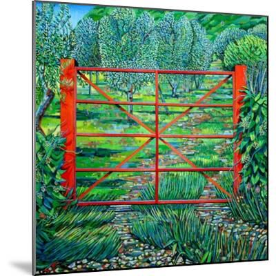 Red Gate, Summer, 2010-Noel Paine-Mounted Giclee Print