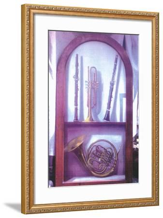 I Hear Music, Sweet Music (1985)-Terry Scales-Framed Giclee Print